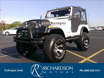 Jeep cj 5 for sale for Richardson motors dubuque iowa