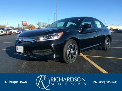 2017 Honda Accord for sale in Dubuque, IA