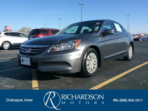 2012 Honda Accord for sale in Dubuque, IA