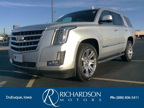 2015 cadillac escalade for sale in iowa for Richardson motors dubuque iowa