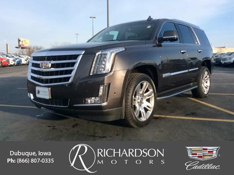 Cadillac escalade for sale in iowa for Richardson motors dubuque iowa