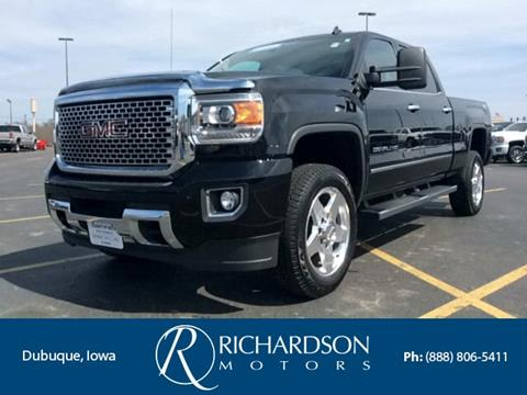 2015 gmc sierra 2500hd for sale in iowa for Richardson motors dubuque iowa
