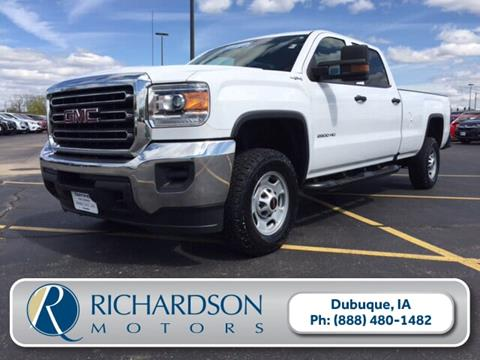2016 GMC Sierra 2500HD for sale in Dubuque, IA