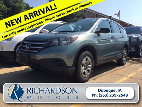2012 Honda CR-V for sale in Dubuque, IA