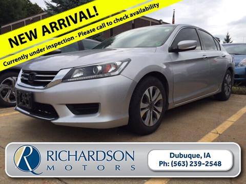 Used Cars Dubuque >> 2015 Honda Accord For Sale In Dubuque Ia