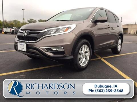 2015 Honda CR-V for sale in Dubuque, IA
