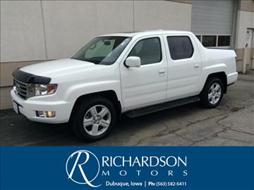 Honda ridgeline for sale iowa for Richardson motors dubuque iowa