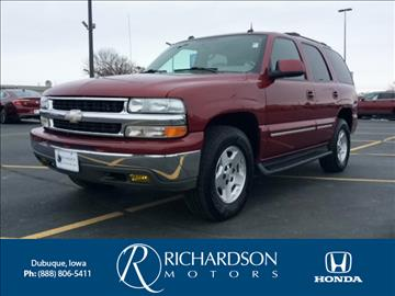 2004 Chevrolet Tahoe for sale in Dubuque, IA