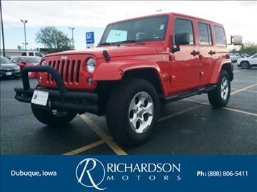 2015 Jeep Wrangler Unlimited for sale in Dubuque, IA