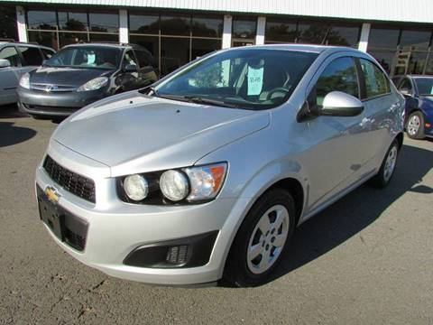 2013 Chevrolet Sonic for sale in East Windsor, CT