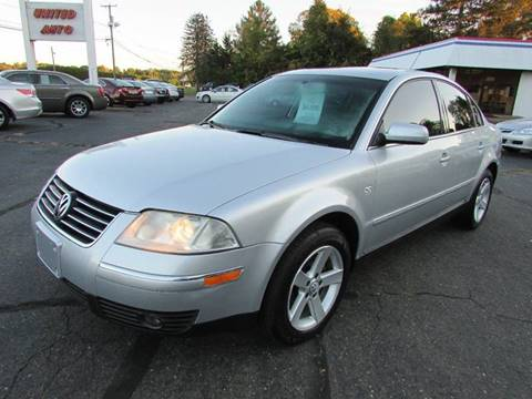 2004 Volkswagen Passat for sale in East Windsor, CT