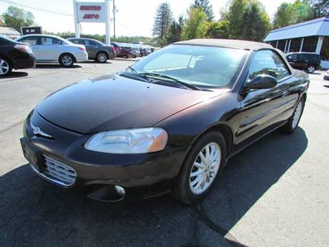 2003 Chrysler Sebring for sale in East Windsor, CT