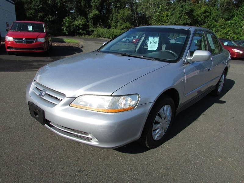 2002 Honda Accord LX 4dr Sedan   East Windsor CT
