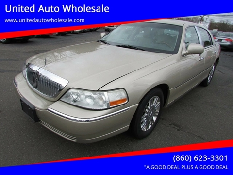 2010 Lincoln Town Car For Sale In East Windsor Ct