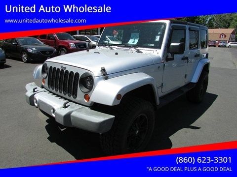 2008 Jeep Wrangler Unlimited for sale in East Windsor, CT