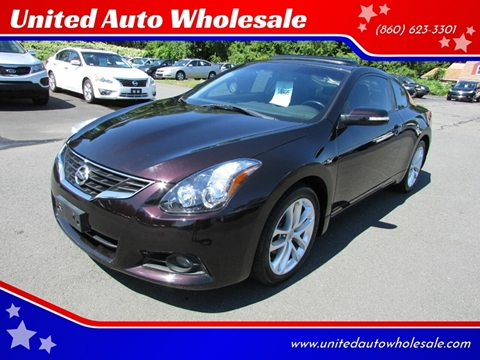2011 Nissan Altima for sale in East Windsor, CT