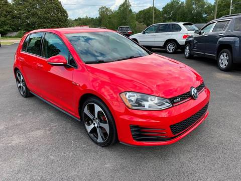 2016 Volkswagen Golf GTI for sale at Hillside Motors in Jamestown KY