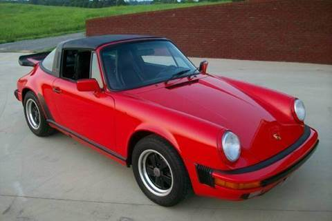 1987 Porsche 911 for sale at Hillside Motors in Jamestown KY