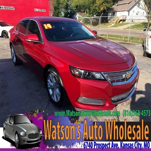 2014 Chevrolet Impala Lt 4dr Sedan W 1lt In Kansas City Mo