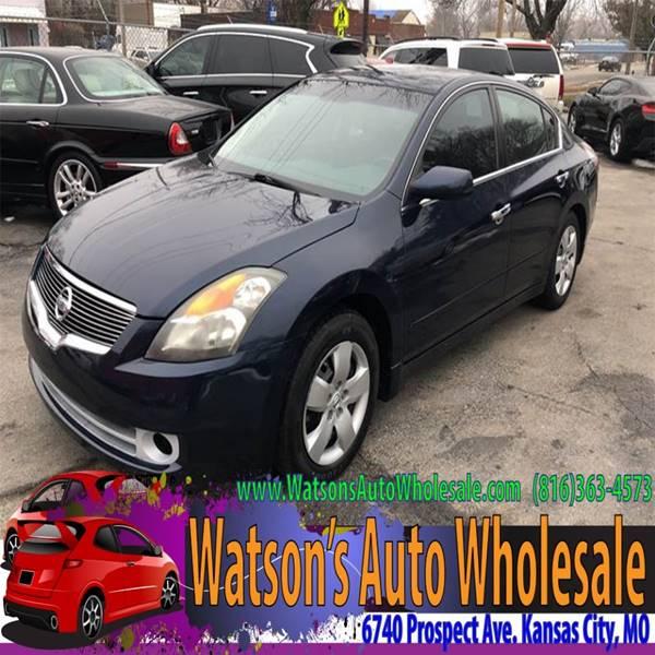 2007 Nissan Altima 2 5 4dr Sedan In Kansas City Mo Watson S Auto