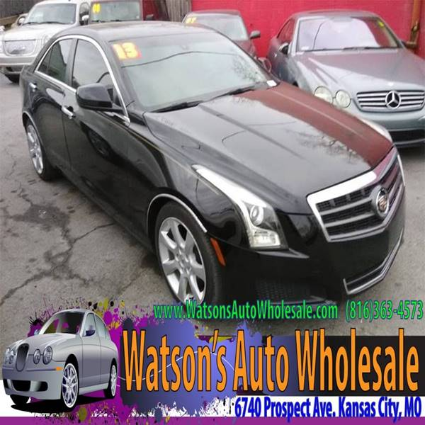 2013 Cadillac Ats 2 0t 4dr Sedan In Kansas City Mo Watson S Auto