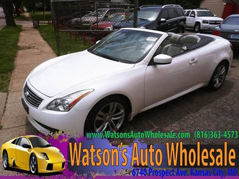 Infiniti Of Kansas City >> 2009 Infiniti G37 Convertible For Sale In Kansas City Mo
