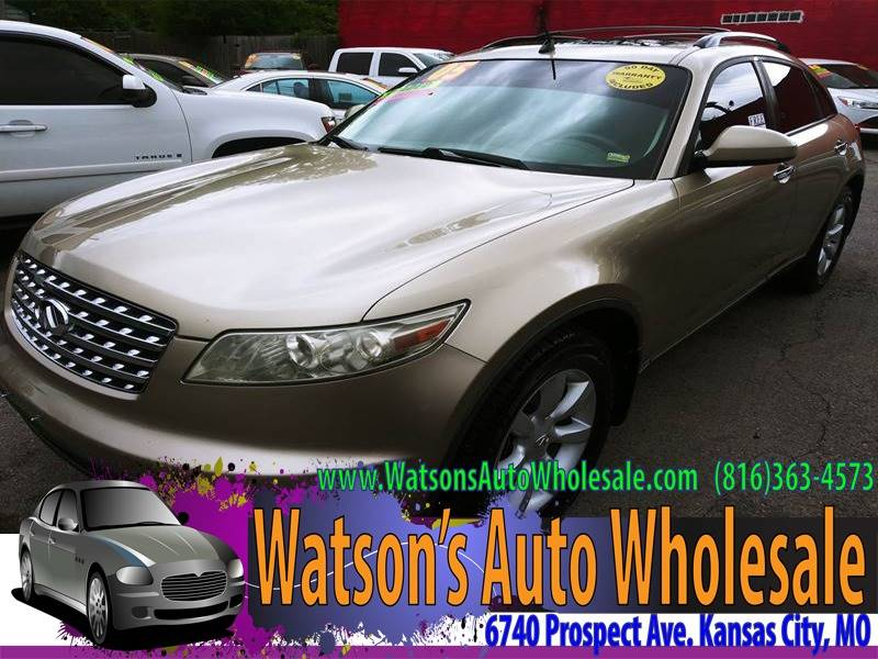 Infiniti Of Kansas City >> 2005 Infiniti Fx35 Awd 4dr Suv In Kansas City Mo Watson S Auto