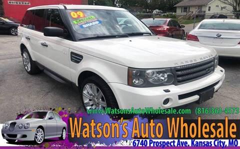 2009 Land Rover Range Rover Sport for sale in Kansas City, MO