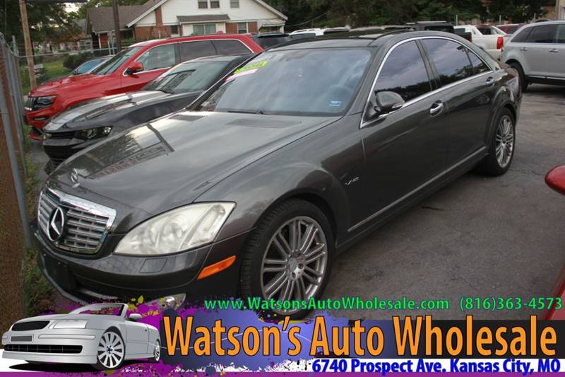 2007 Mercedes Benz S Class S 600 4dr Sedan In Kansas City Mo