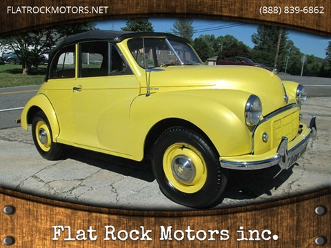1954 MG MORRIS MINOR CONVERTIBLE for sale in Mount Airy, NC