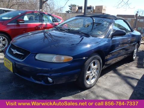 2000 Chrysler Sebring for sale in Magnolia, NJ