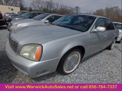 2003 Cadillac DeVille for sale in Magnolia, NJ