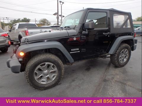 2013 Jeep Wrangler for sale in Magnolia, NJ
