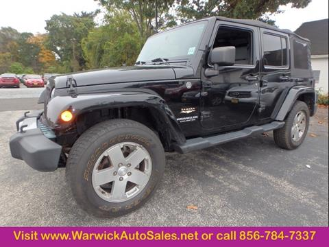 2010 Jeep Wrangler Unlimited for sale in Magnolia, NJ