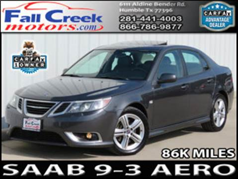 2009 Saab 9-3 for sale in Humble, TX