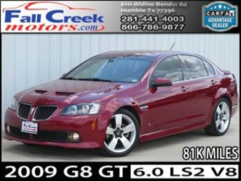 2009 Pontiac G8 for sale in Humble, TX