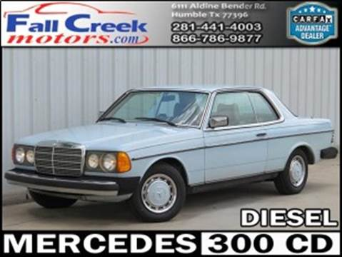 1978 Mercedes-Benz 300-Class for sale in Humble, TX