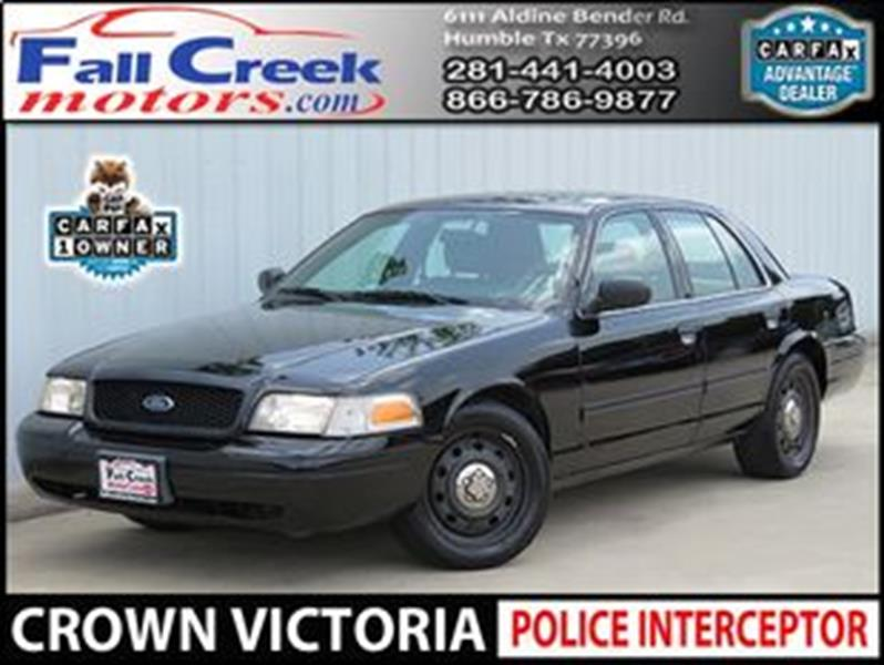 2009 Ford Crown Victoria In Humble TX - Fall Creek Motor Cars