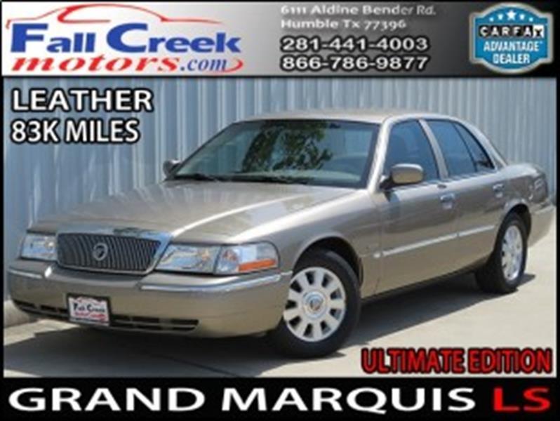 2005 Mercury Grand Marquis LS - Humble TX