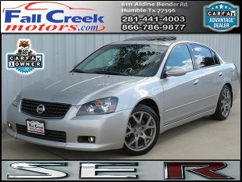2006 Nissan Altima 3.5 SE R 4dr Sedan W/Automatic   Humble TX