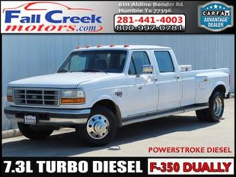 1997 Ford F-350 for sale in Humble, TX