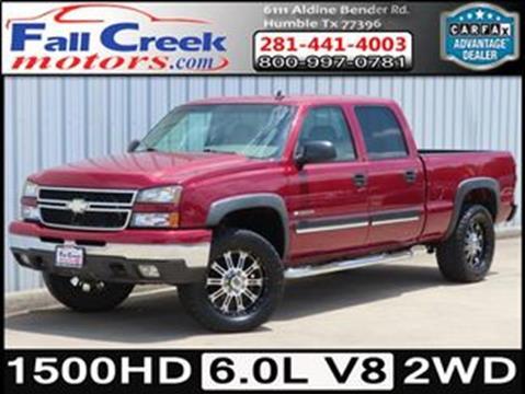 2007 Chevrolet Silverado 1500HD Classic for sale in Humble, TX