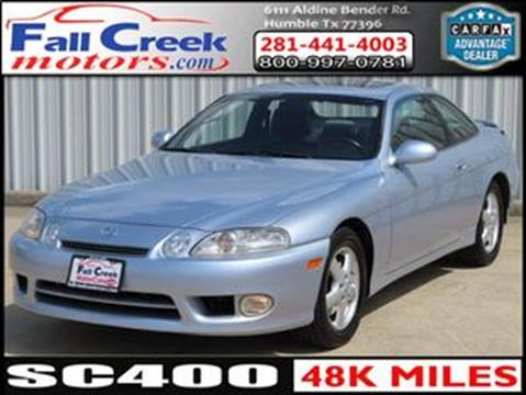 1998 Lexus SC 400 for sale in Humble, TX