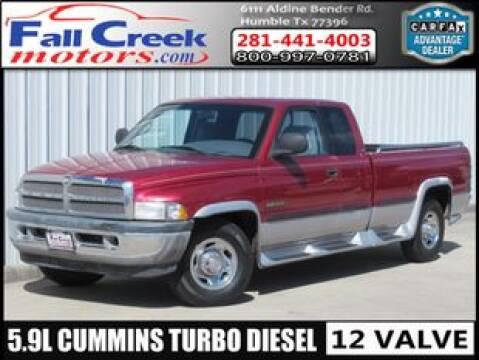 1998 Dodge Ram Pickup 2500 for sale at Fall Creek Motor Cars in Humble TX
