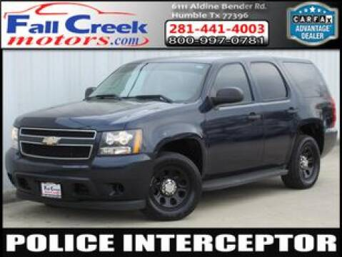 2009 Chevrolet Tahoe for sale at Fall Creek Motor Cars in Humble TX