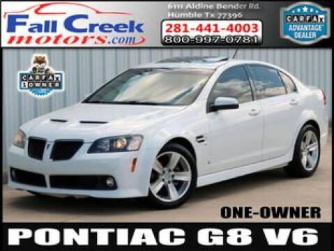 2008 Pontiac G8 for sale at Fall Creek Motor Cars in Humble TX