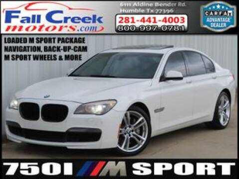 2011 BMW 7 Series for sale at Fall Creek Motor Cars in Humble TX