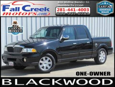2002 Lincoln Blackwood for sale at Fall Creek Motor Cars in Humble TX