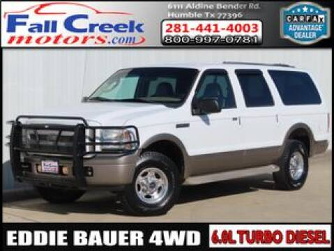 2005 Ford Excursion for sale at Fall Creek Motor Cars in Humble TX
