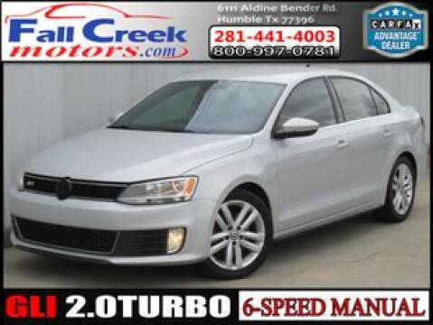 2013 Volkswagen Jetta for sale at Fall Creek Motor Cars in Humble TX